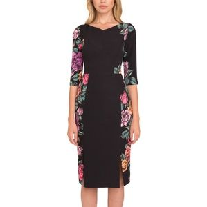 Prism Sheath Floral Dress